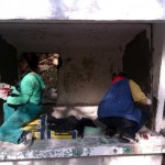 3. Renovierung des ersten Geheges (1)