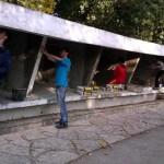 3. Renovierung des ersten Geheges (5)