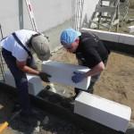 Bau eines Heizungshauses für Familie Glavan (10)