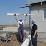 Bau eines Heizungshauses für Familie Glavan (12)