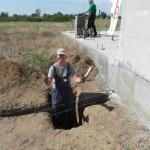 Bau eines Heizungshauses für Familie Glavan (2)