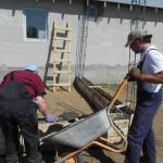 Bau eines Heizungshauses für Familie Glavan (20)