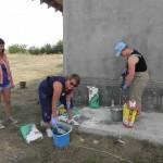 Bau eines Heizungshauses für Familie Glavan (34)