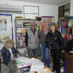 Einkauf Schulbedarf in Ljubimec