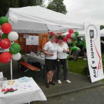 Infostand beim RWE Drachenbootrennen 2013 (1)