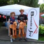 Infostand beim RWE Drachenbootrennen 2013 (12)