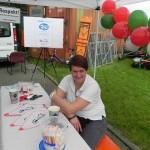 Infostand beim RWE Drachenbootrennen 2013 (15)