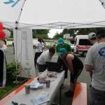 Infostand beim RWE Drachenbootrennen 2013 (3)
