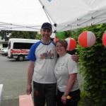 Infostand beim RWE Drachenbootrennen 2013 (4)