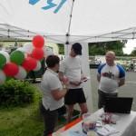 Infostand beim RWE Drachenbootrennen 2013 (5)