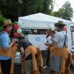 Infostand beim RWE Drachenbootrennen 2013 (7)