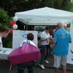 Infostand beim RWE Drachenbootrennen 2013 (9)