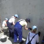 Putzarbeiten am Haus der Familie Glavan (12)