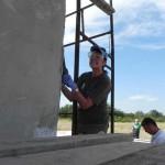 Putzarbeiten am Haus der Familie Glavan (3)