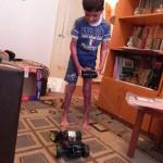 Sept. 2012 - Spaß mit dem ferngesteuerten Auto (2)