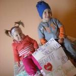 Teil 3 Febr. 2013 - Familie Glavan im neuen Haus (2)
