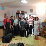 Benefit & Joy mit Helfern (2)