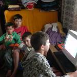 Sachspenden Familie mit 5 Kindern, Craiova (13)