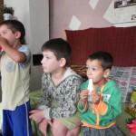 Sachspenden Familie mit 5 Kindern, Craiova (17)