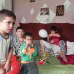 Sachspenden Familie mit 5 Kindern, Craiova (3)